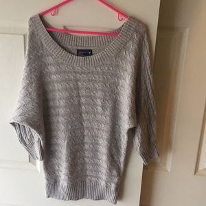 American Eagle Outfitters Swoop Neck Sweater